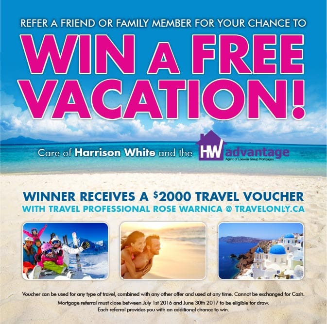 And the winner of the travel voucher is…