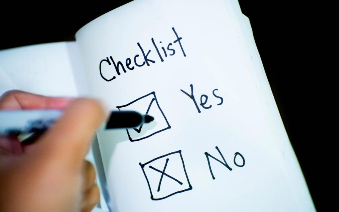Required Documents Checklist